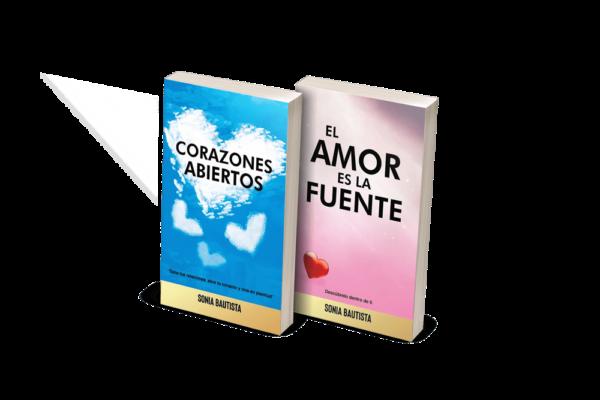 pack libros Corazones abiertos + El amor es la fuente